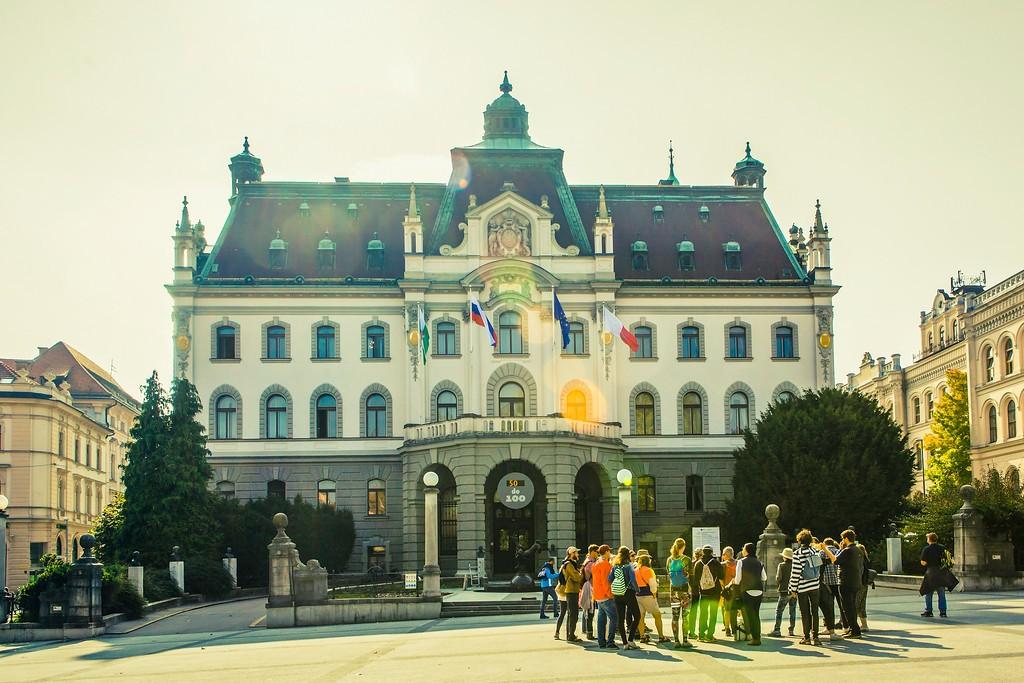 斯洛文尼亚首都卢布尔雅那(Ljubljana), 城市风貌_图1-14