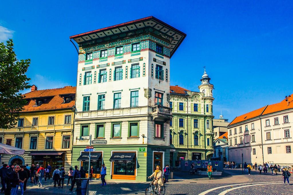 斯洛文尼亚首都卢布尔雅那(Ljubljana), 城市风貌_图1-15