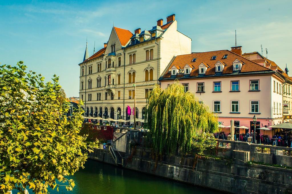 斯洛文尼亚首都卢布尔雅那(Ljubljana), 城市风貌_图1-9