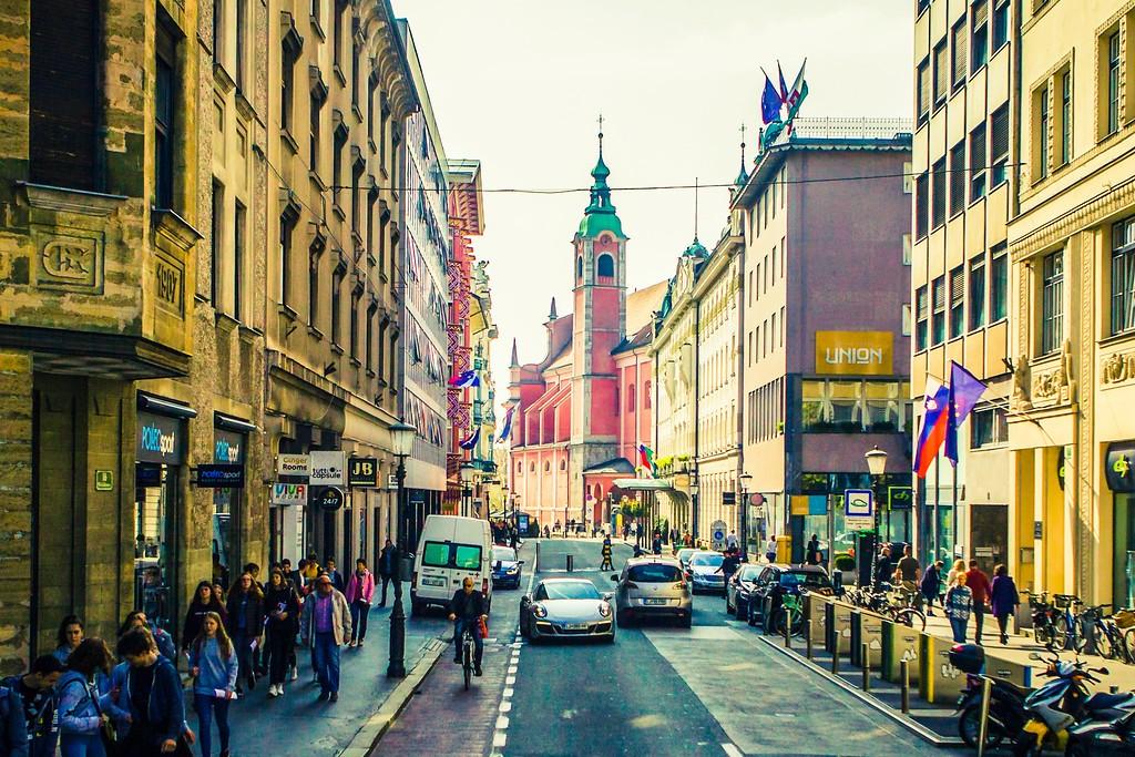斯洛文尼亚首都卢布尔雅那(Ljubljana), 城市风貌_图1-12