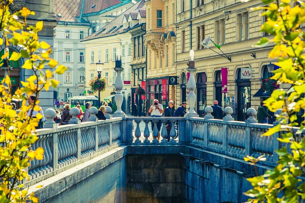 斯洛文尼亚首都卢布尔雅那(Ljubljana), 城市风貌_图1-11