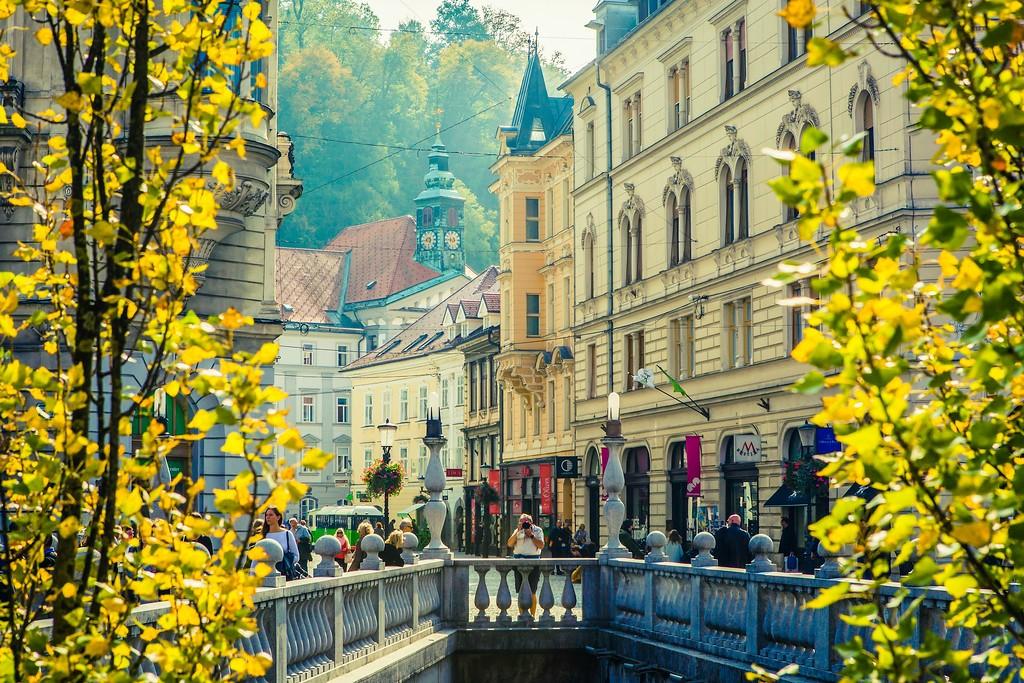 斯洛文尼亚首都卢布尔雅那(Ljubljana), 城市风貌_图1-1