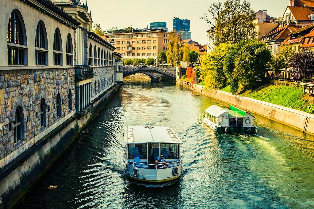 斯洛文尼亚首都卢布尔雅那(Ljubljana), 城市风貌_图1-6