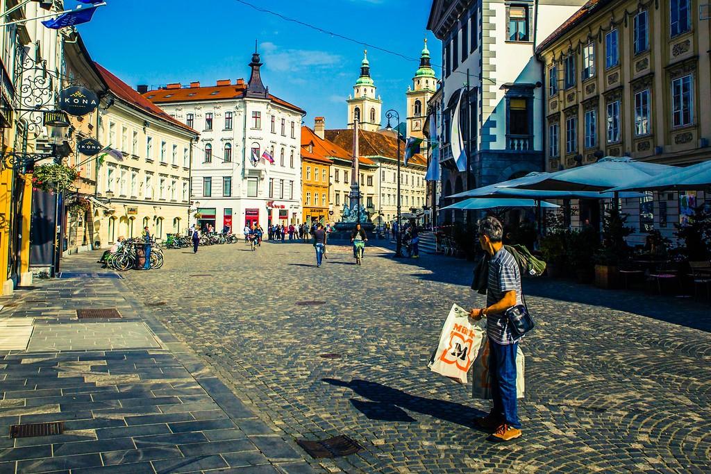 斯洛文尼亚首都卢布尔雅那(Ljubljana), 城市风貌_图1-8