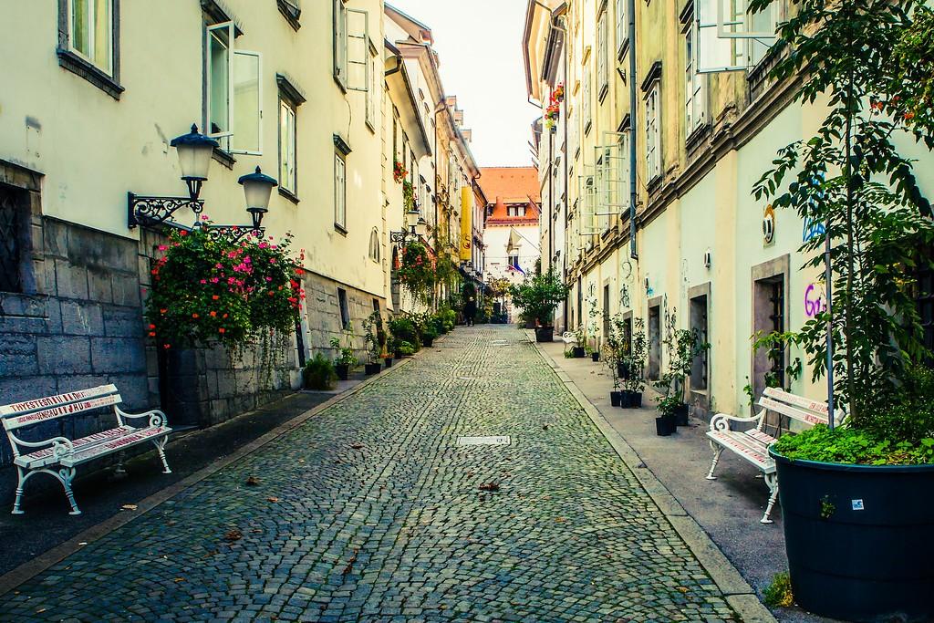 斯洛文尼亚首都卢布尔雅那(Ljubljana), 城市风貌_图1-5