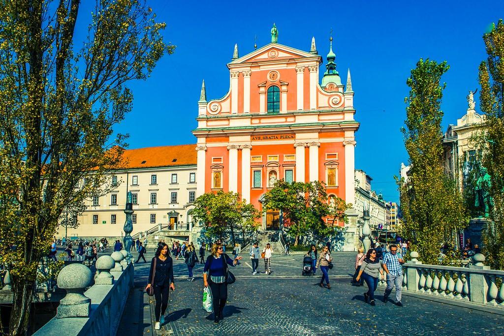 斯洛文尼亚首都卢布尔雅那(Ljubljana), 城市风貌_图1-30