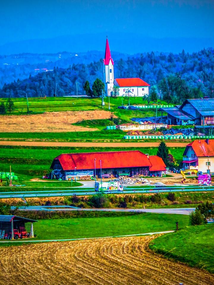 克罗地亚旅途,乡村小城_图1-6