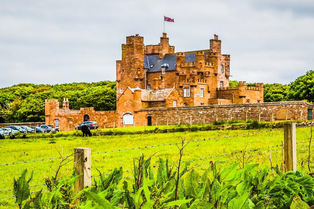 苏格兰梅城堡(Castle of Mey),远望英姿_图1-17