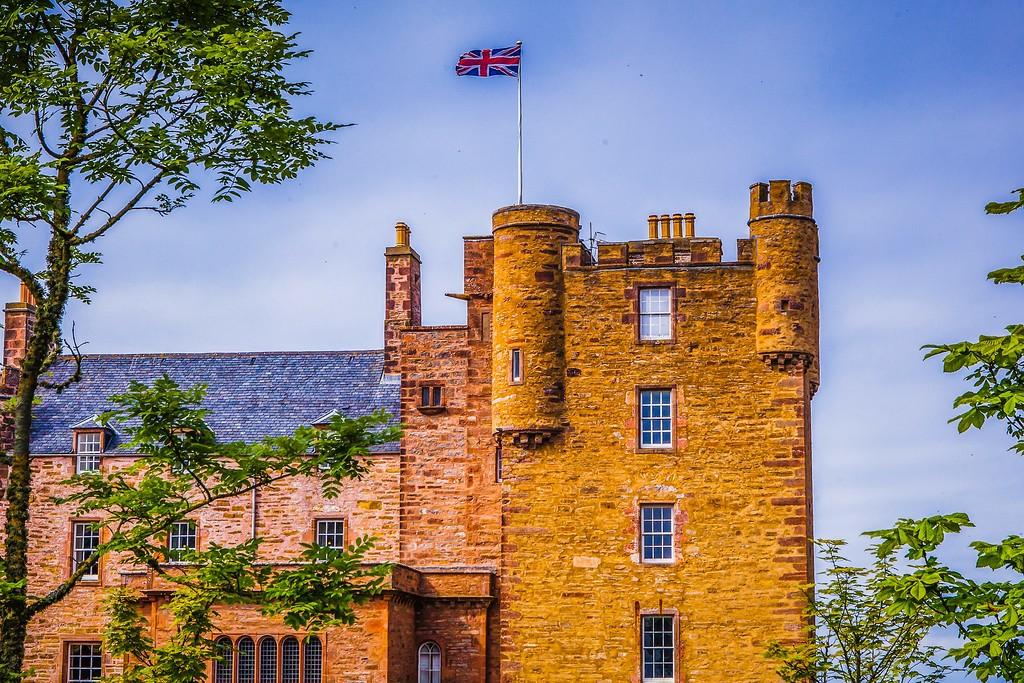 苏格兰梅城堡(Castle of Mey),远望英姿_图1-20
