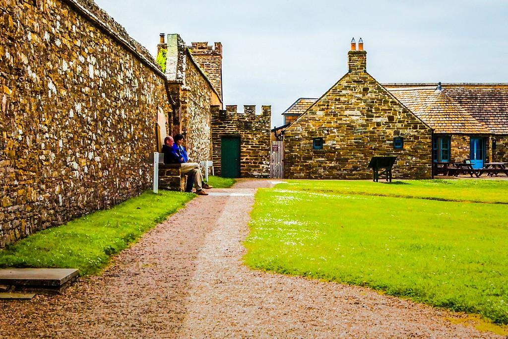 苏格兰梅城堡(Castle of Mey),远望英姿_图1-18