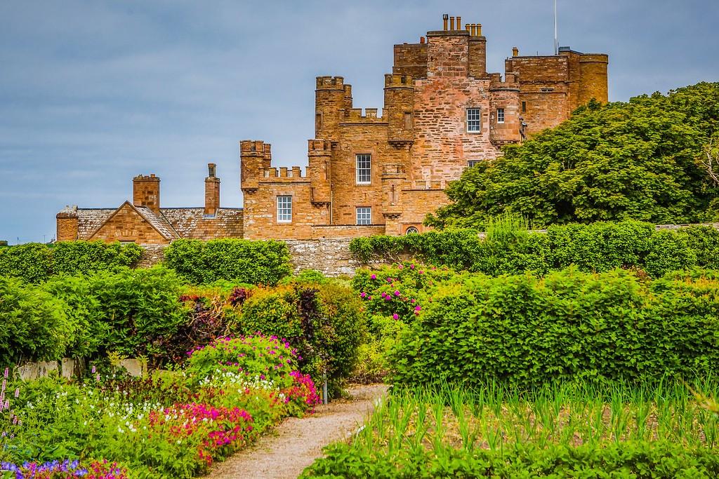 苏格兰梅城堡(Castle of Mey),远望英姿_图1-15