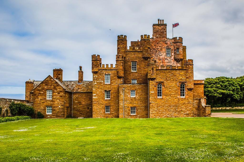 苏格兰梅城堡(Castle of Mey),远望英姿_图1-11