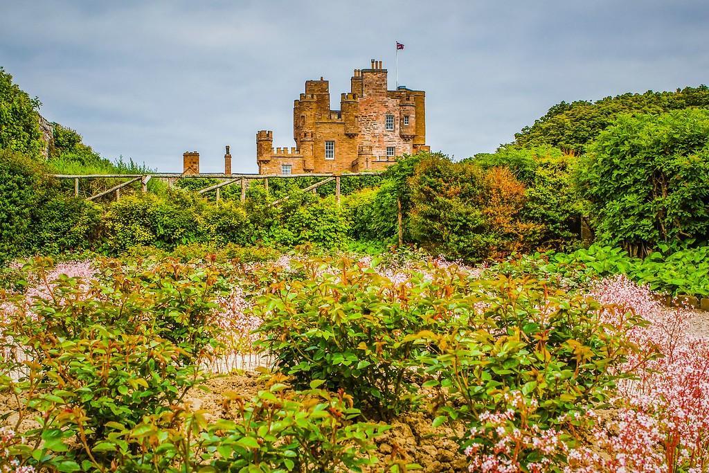 苏格兰梅城堡(Castle of Mey),远望英姿_图1-6