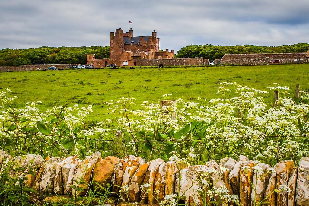 苏格兰梅城堡(Castle of Mey),远望英姿_图1-5