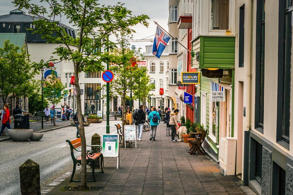 冰岛雷克雅未克(Reykjavík),城市街道_图1-9