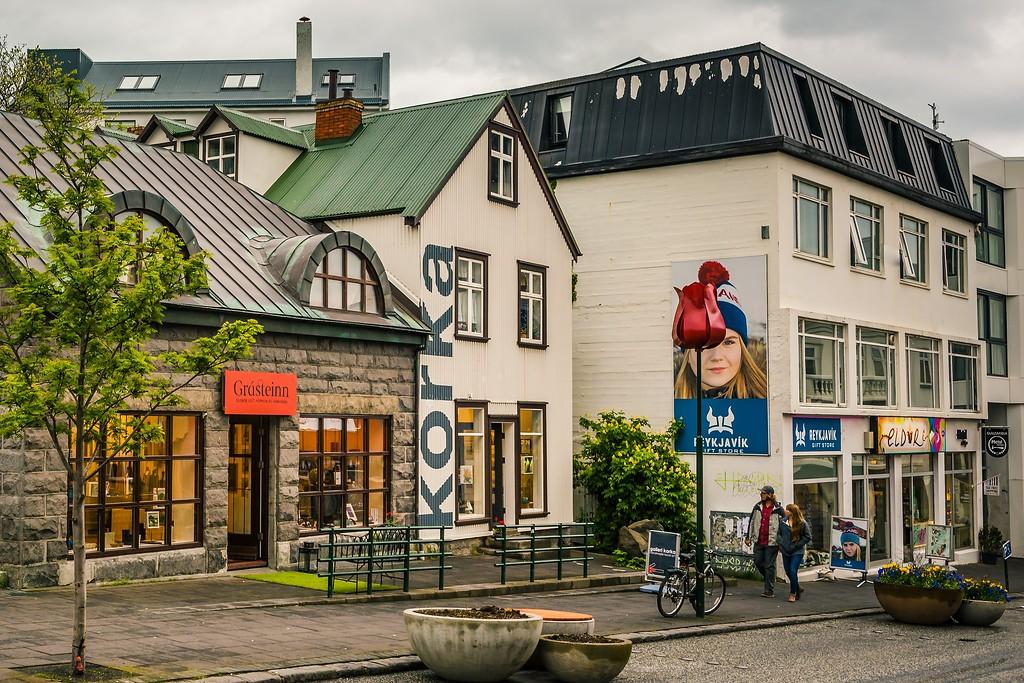 冰岛雷克雅未克(Reykjavík),城市街道_图1-10