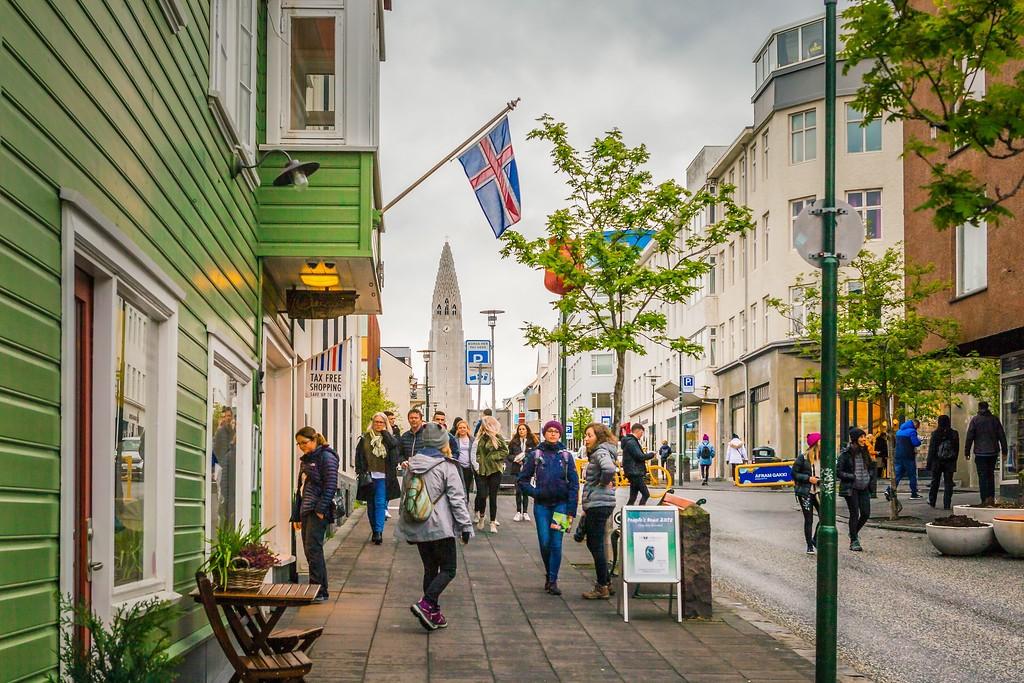 冰岛雷克雅未克(Reykjavík),城市街道_图1-12