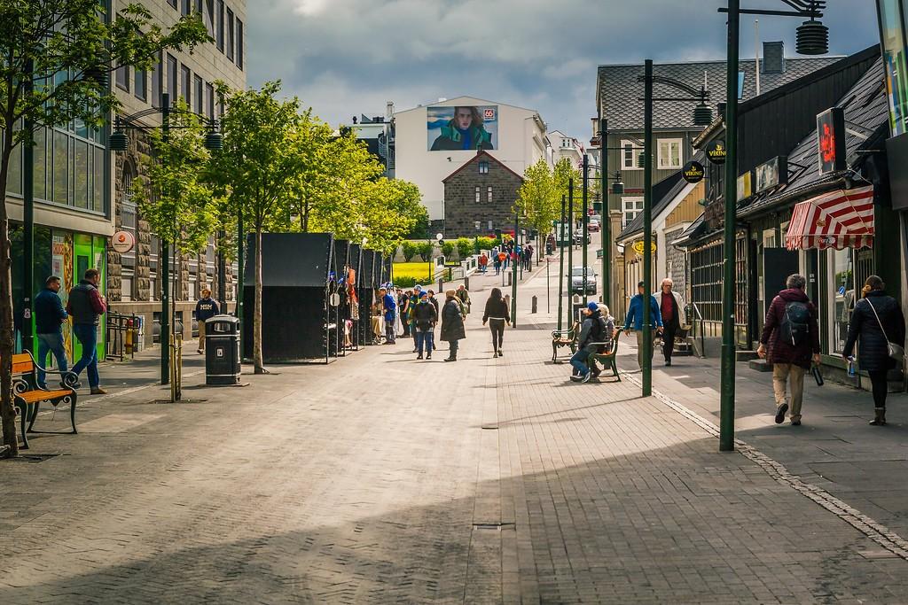 冰岛雷克雅未克(Reykjavík),城市街道_图1-7