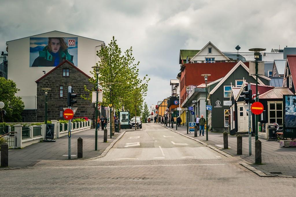 冰岛雷克雅未克(Reykjavík),城市街道_图1-14