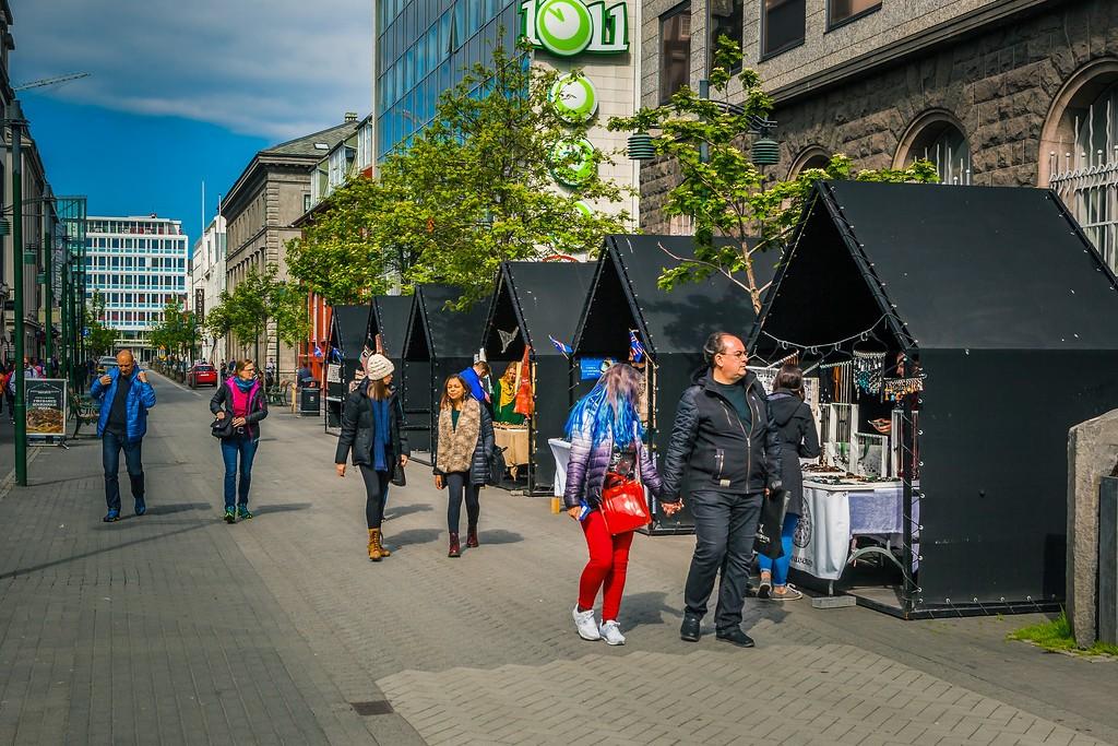 冰岛雷克雅未克(Reykjavík),城市街道_图1-16