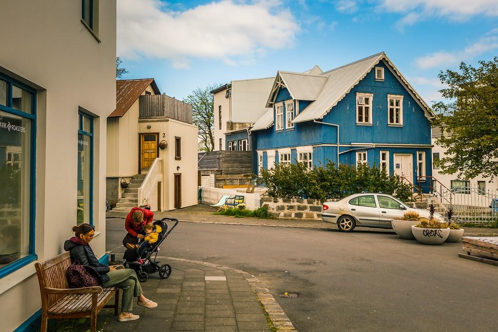 冰岛雷克雅未克(Reykjavík),城市街道_图1-20