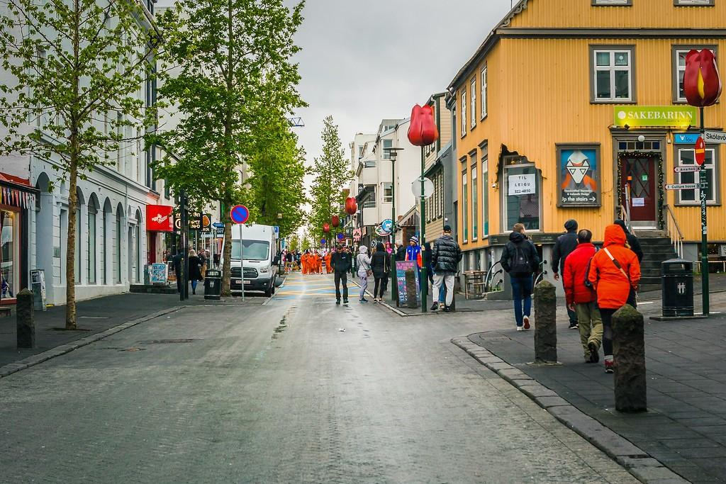 冰岛雷克雅未克(Reykjavík),城市街道_图1-18