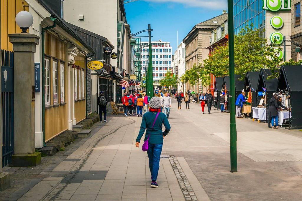 冰岛雷克雅未克(Reykjavík),城市街道_图1-21