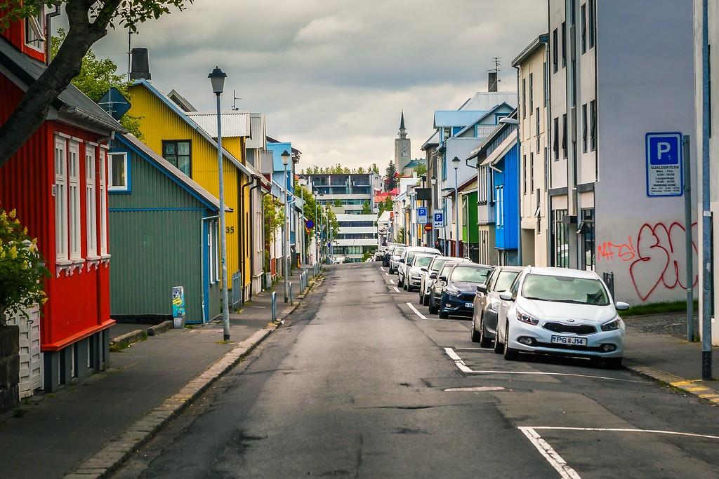 冰岛雷克雅未克(Reykjavík),城市街道_图1-22