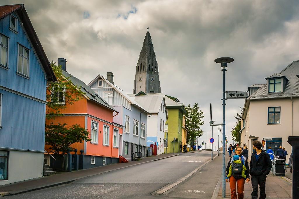 冰岛雷克雅未克(Reykjavík),城市街道_图1-25