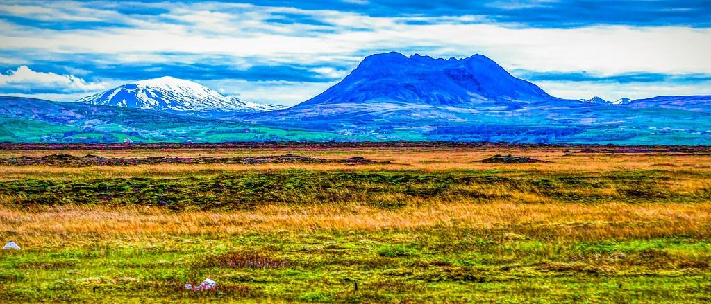 冰岛风采,彩色画布_图1-5