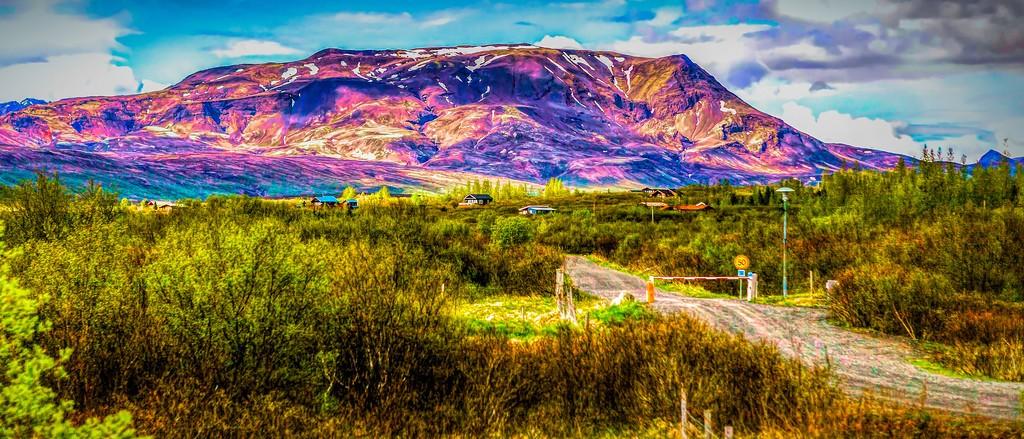 冰岛风采,彩色画布_图1-2