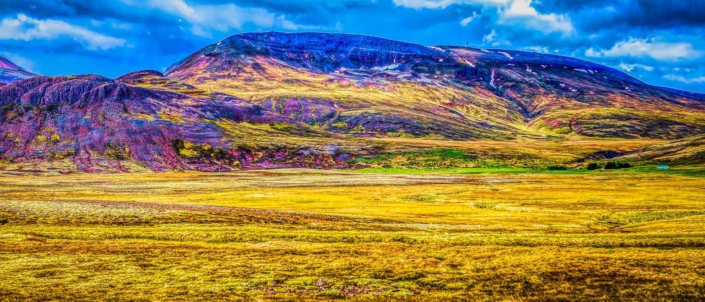 冰岛风采,彩色画布_图1-8
