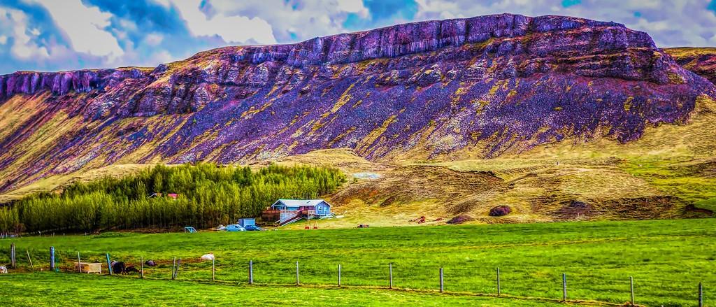 冰岛风采,彩色画布_图1-3