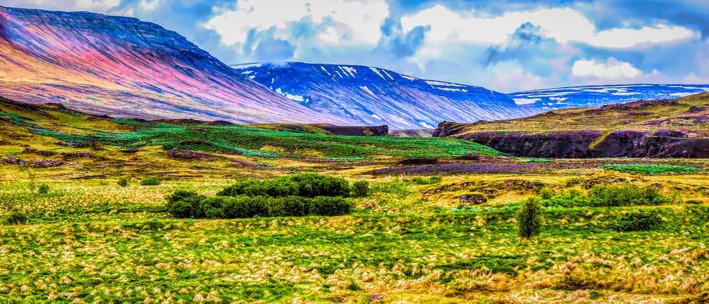 冰岛风采,彩色画布_图1-6