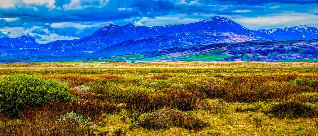 冰岛风采,彩色画布_图1-10