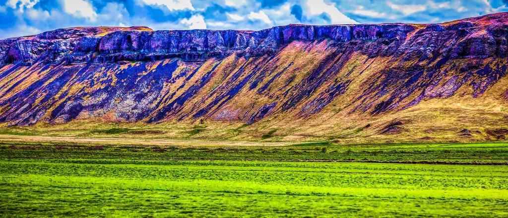 冰岛风采,彩色画布_图1-11