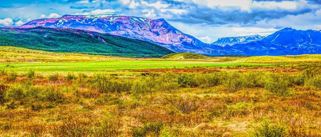 冰岛风采,彩色画布_图1-12