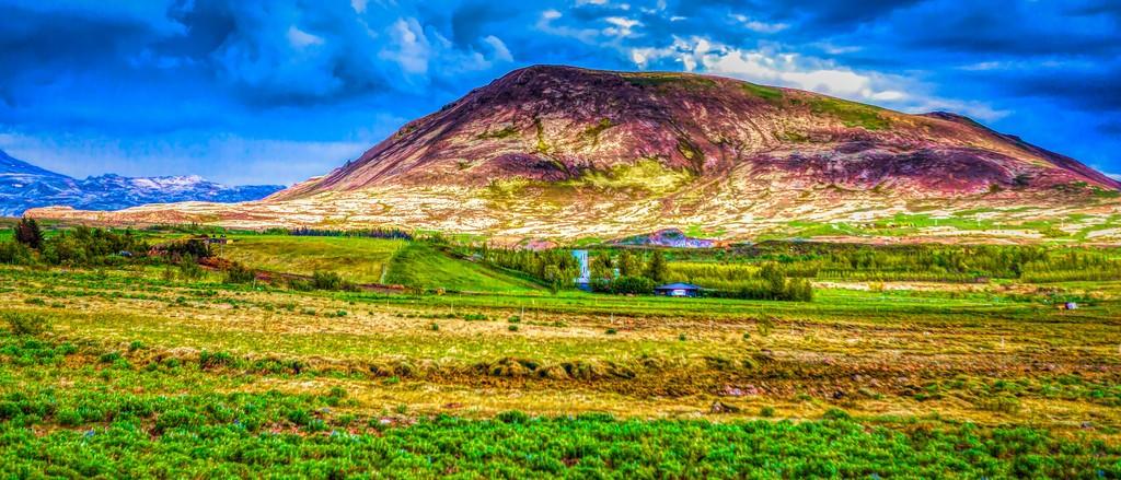 冰岛风采,彩色画布_图1-9