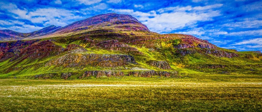 冰岛风采,彩色画布_图1-13