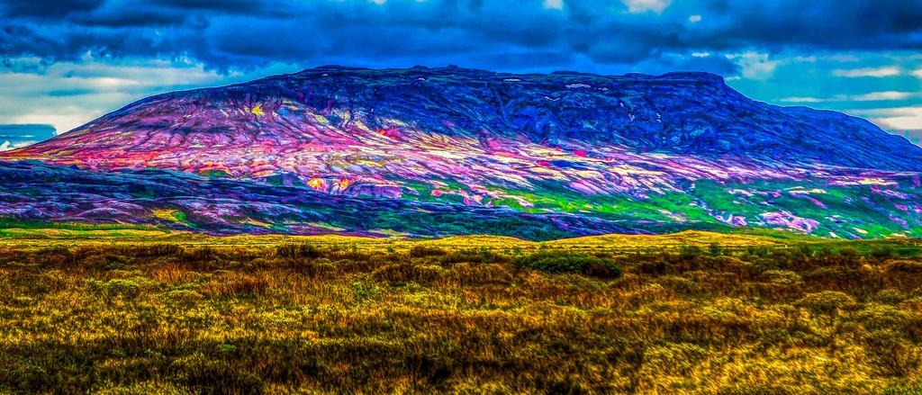 冰岛风采,彩色画布_图1-21