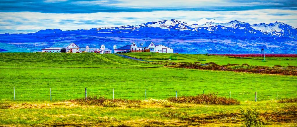 冰岛风采,彩色画布_图1-16