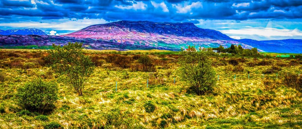 冰岛风采,彩色画布_图1-22