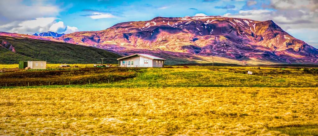 冰岛风采,彩色画布_图1-19