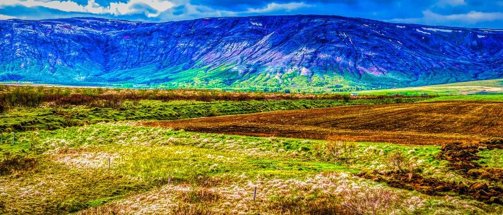 冰岛风采,彩色画布_图1-17