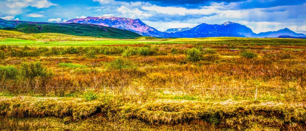 冰岛风采,彩色画布_图1-20
