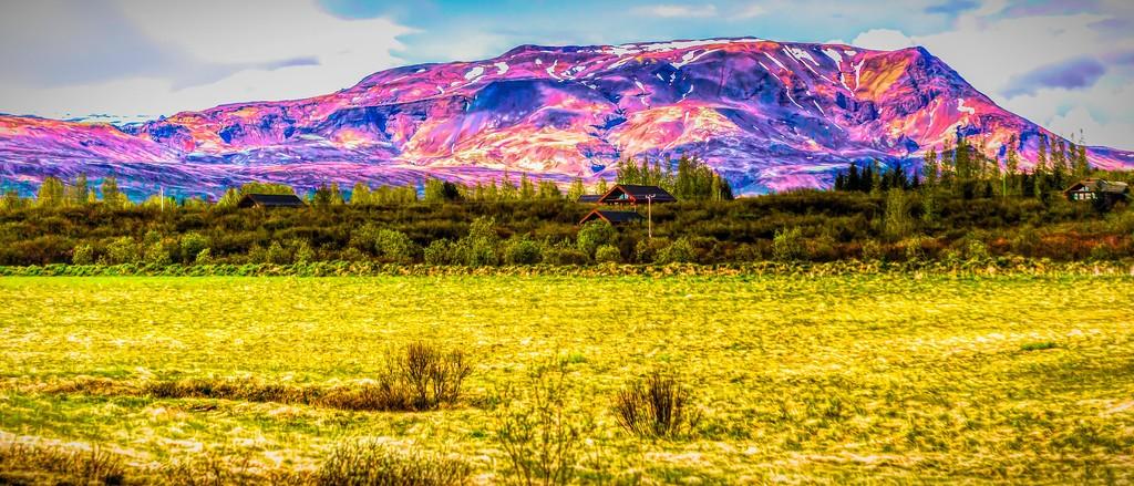 冰岛风采,彩色画布_图1-18