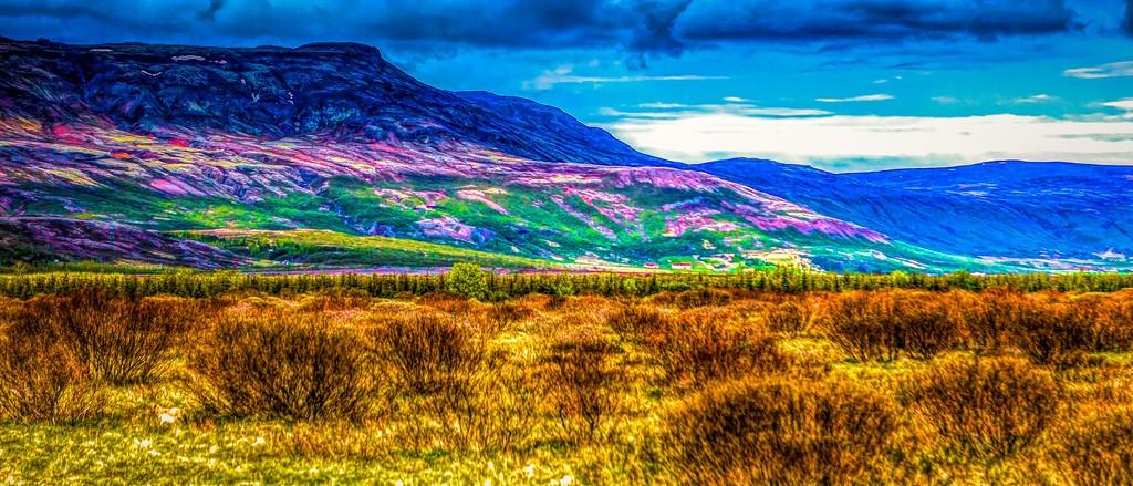 冰岛风采,彩色画布_图1-26