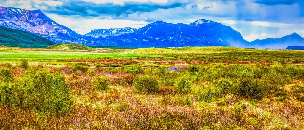 冰岛风采,彩色画布_图1-25