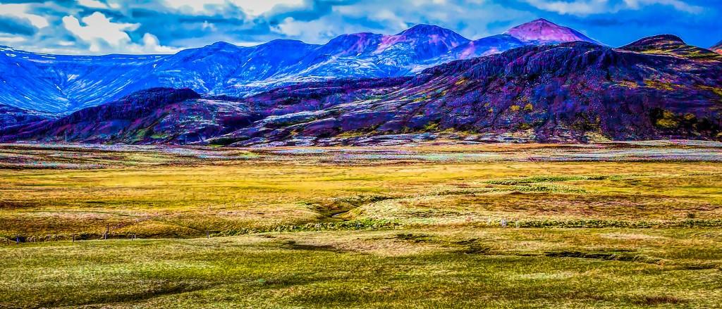 冰岛风采,彩色画布_图1-29