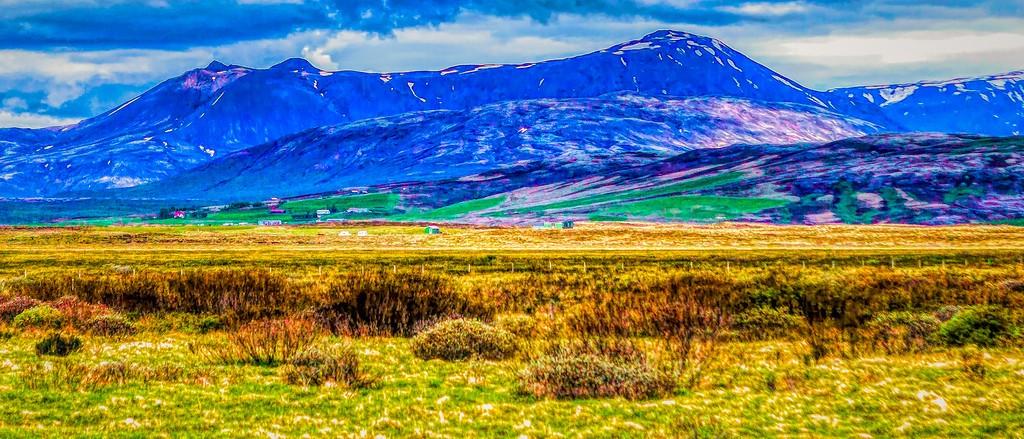 冰岛风采,彩色画布_图1-23